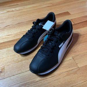 Puma Black & white Turin SNEAKER New Size 12 Men